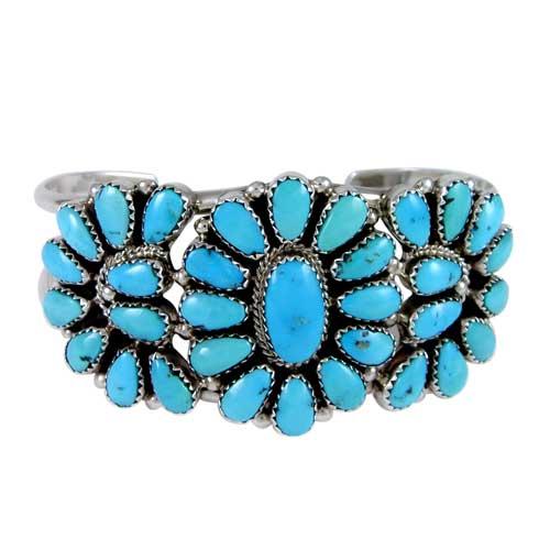 Navajo Turquoise Cer Bracelet